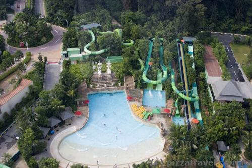 Water park on the Sentosa island
