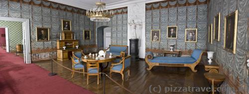 Голубая комната в западном крыле