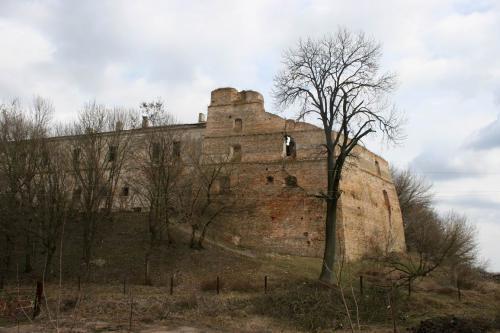 Руины замка Чарторыйских