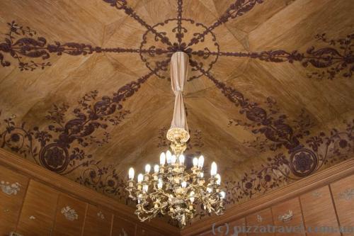 Деревянные потолки в Воронцовском дворце