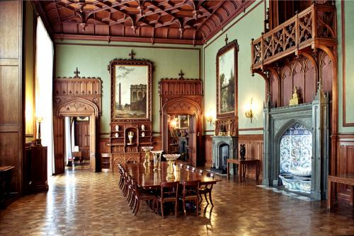 Dining room of the palace