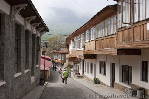 Улица старого Гурзуфа