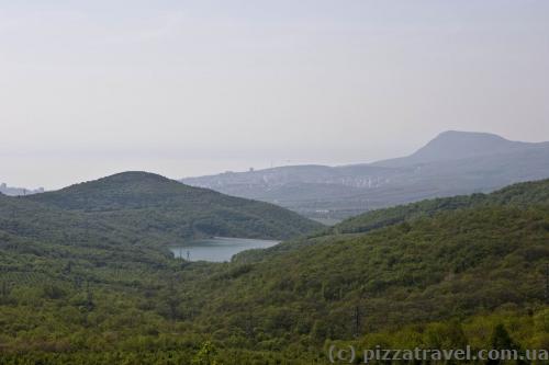 Kutuzov reservoir view