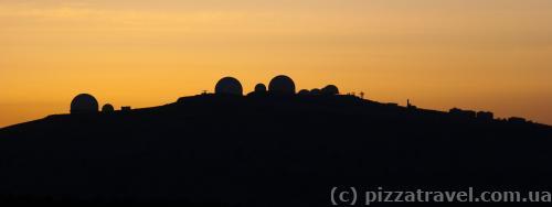 Military base on Ai-Petri