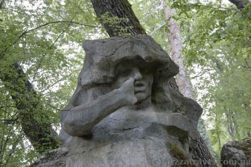 Скульптура на Cолнечной тропе