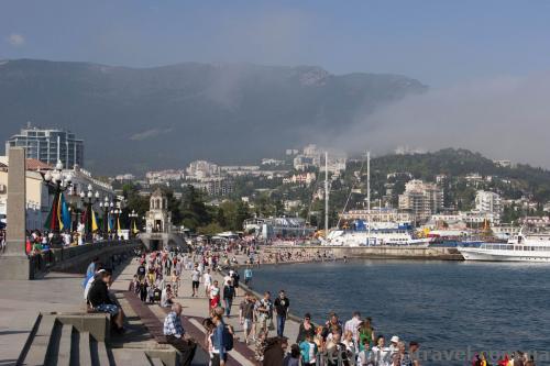 Yalta waterfront