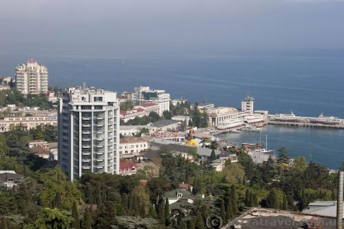 View of Yalta