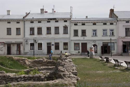 Будиночки на Вічевому майдані