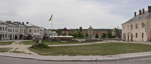 Вічевий майдан - центр Жовкви