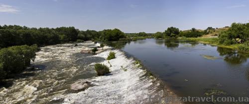 Rapids on the Pivdennyi Bug