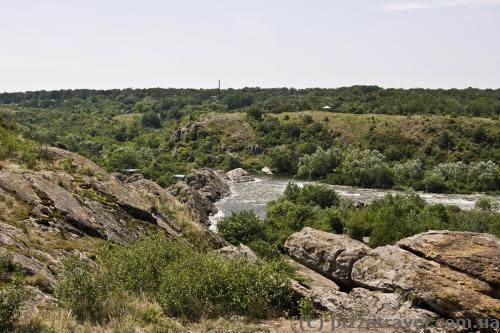 Вид на Южный Буг с Высокой скалы