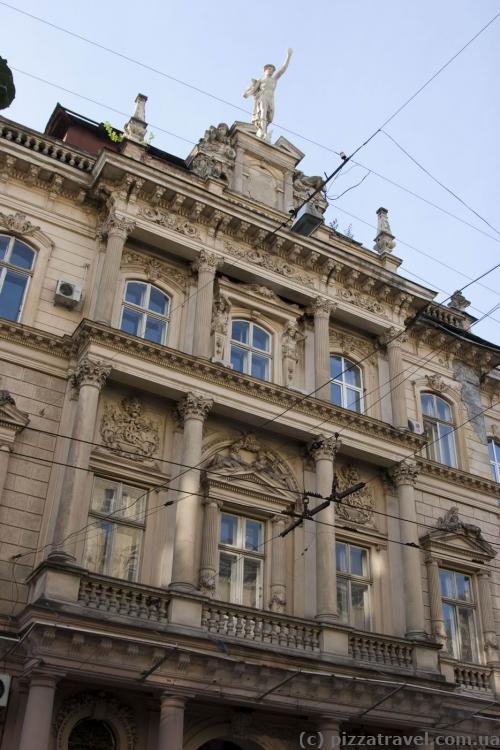 Дом на улице Сечевых Стрельцов